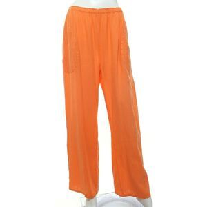 Oh My Gauze! Basic Pants Straight Loose Lagenlook